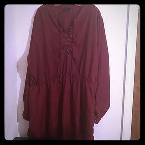 Red Wine Mini dress